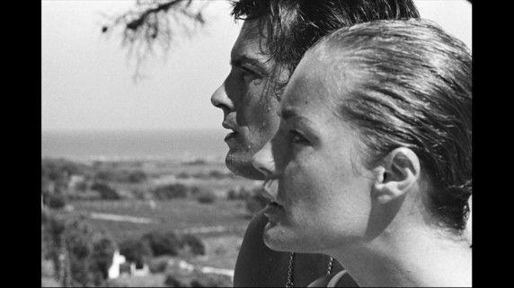 Alain Delon Et Romy Schneider Pendant Le Tournage Du Film La