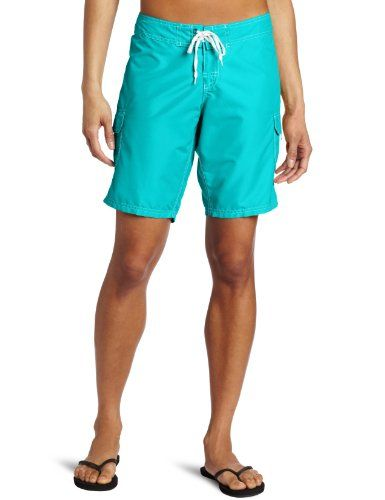 Kanu Surf Women's Marina Boardshorts, Lagoon, 12 - Kanu surf, a surf and swim lifestyle brand, is well know for great prints and colors along with high quality functional apparel for the whole family. All of our boardshorts are made with our comfort