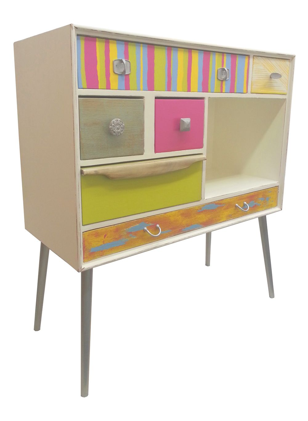 Looking To Purchase This Unit: Upcycled Retro Drawer Unit