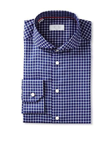 Eton Men's Plaid Dress Shirt, http://www.myhabit.com/redirect/ref=qd_sw_dp_pi_li?url=http%3A%2F%2Fwww.myhabit.com%2F%3Frefcust%3DJ3BAYUOYSP3AQTF72HNTEFBWPU%23page%3Dd%26dept%3Dmen%26sale%3DA14JYF3DZ06QQX%26asin%3DB00DFU68T4%26cAsin%3DB00DFU69Q6  USD 95