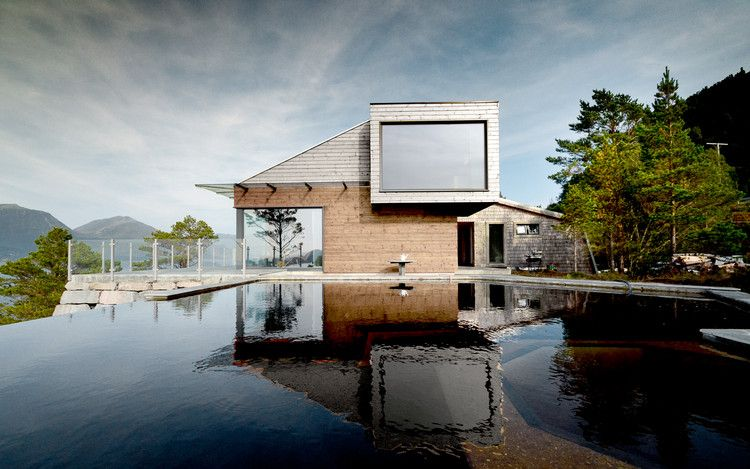 Cabin Straumsnes  / Rever & Drage Architects, © Tom Auger