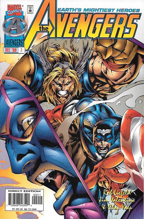 The Avengers 2 Marvel Comics Vol