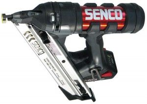 Powerful finish nailer with rugged bold character