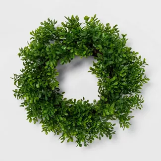 Shop For Small Wreath Online At Target Free Shipping On Orders Of 35 And Save 5 Every Day With Y In 2020 With Images Artificial Boxwood Wreath Boxwood Wreath Artificial Wreath