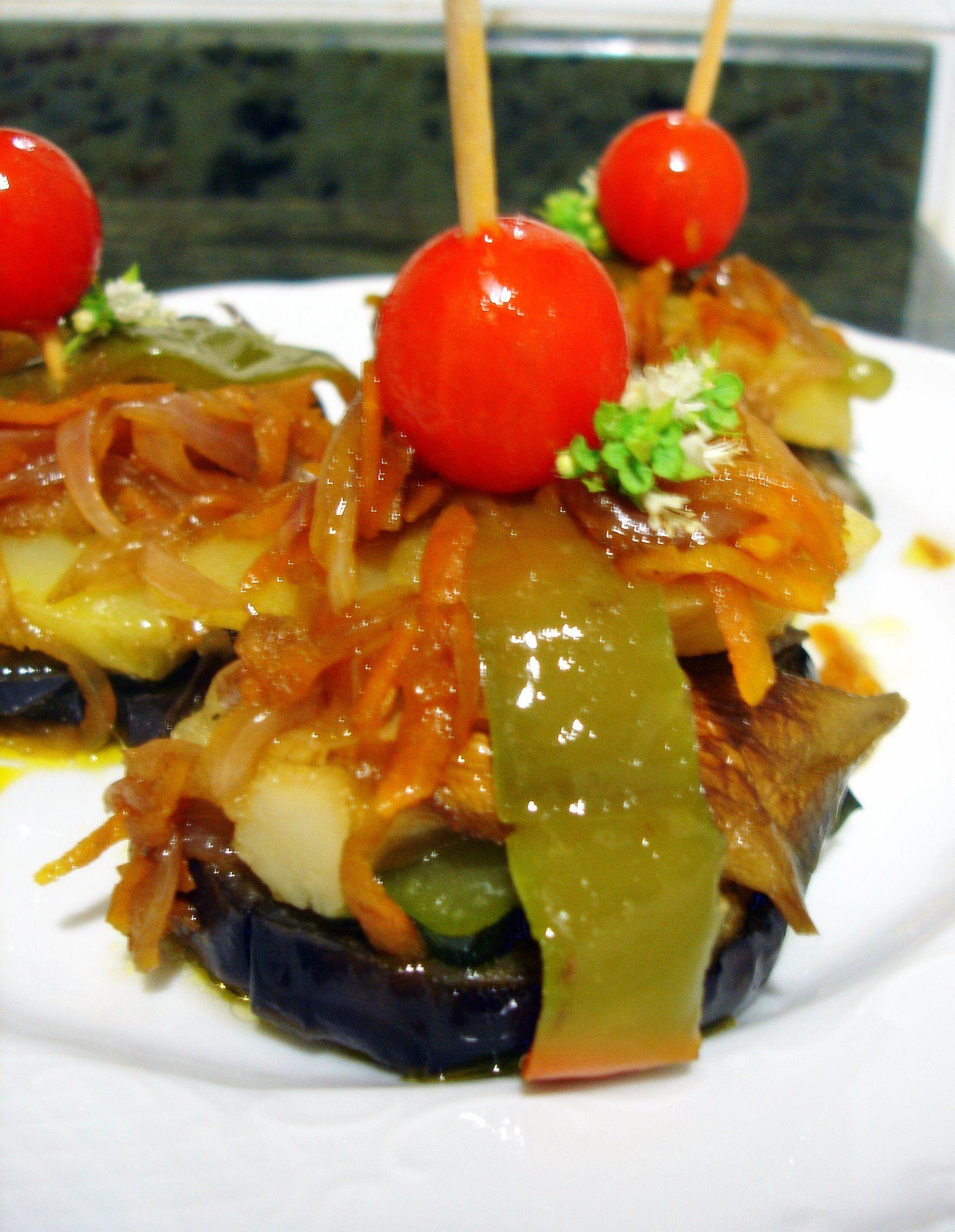 recetas de tapas vegetales