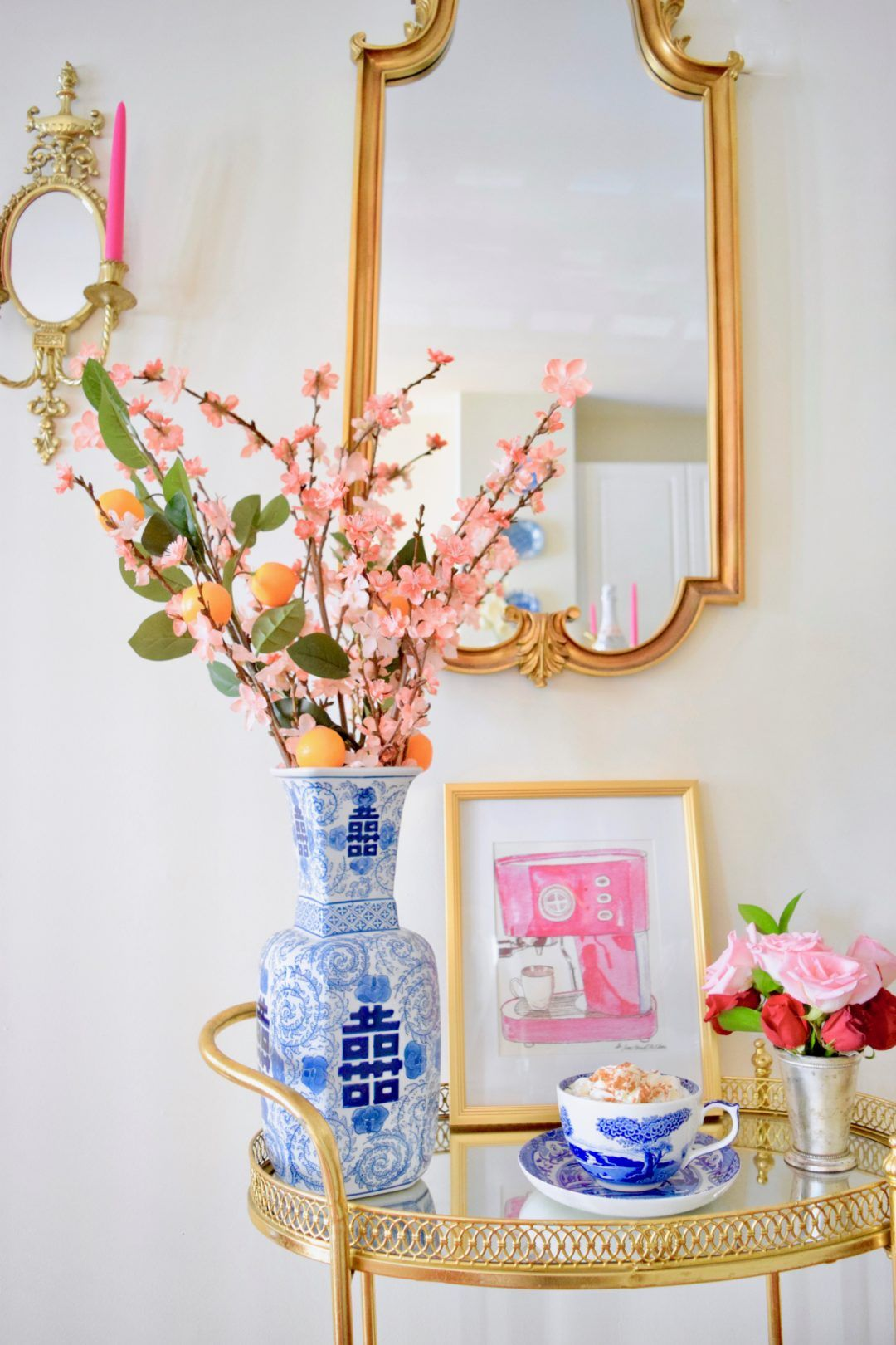 Flowers in Mint Julep Cups in 2020 Mint julep cups