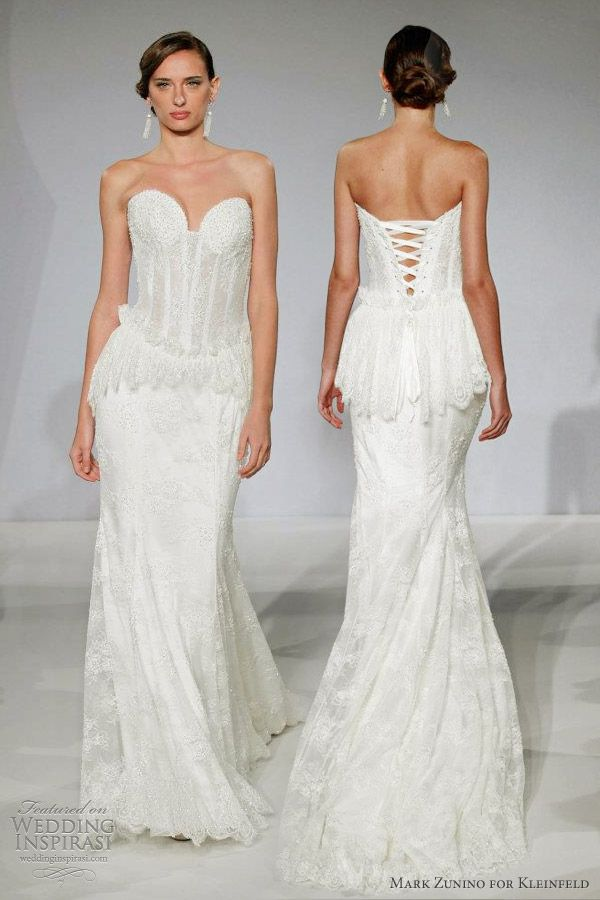 Unique Mark Zunino for Kleinfeld Wedding Dresses