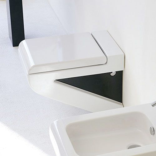 Art Ceram La Fontana Wall Hung Toilet Select Colour Sides S03