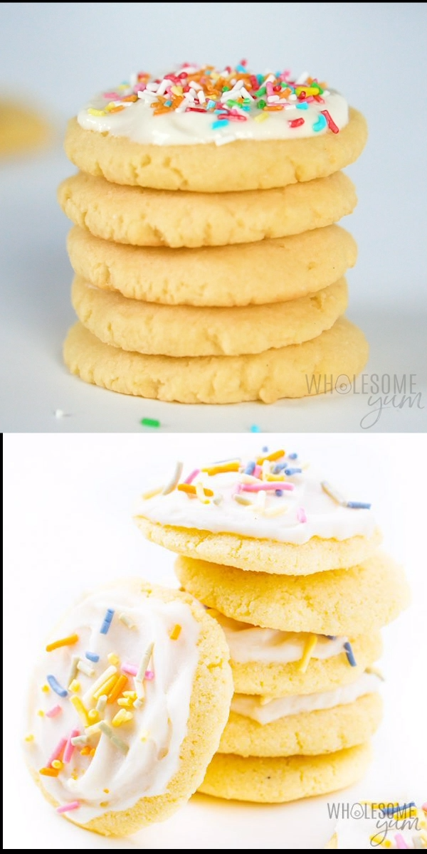 Coconut Flour Sugar Cookies Recipe