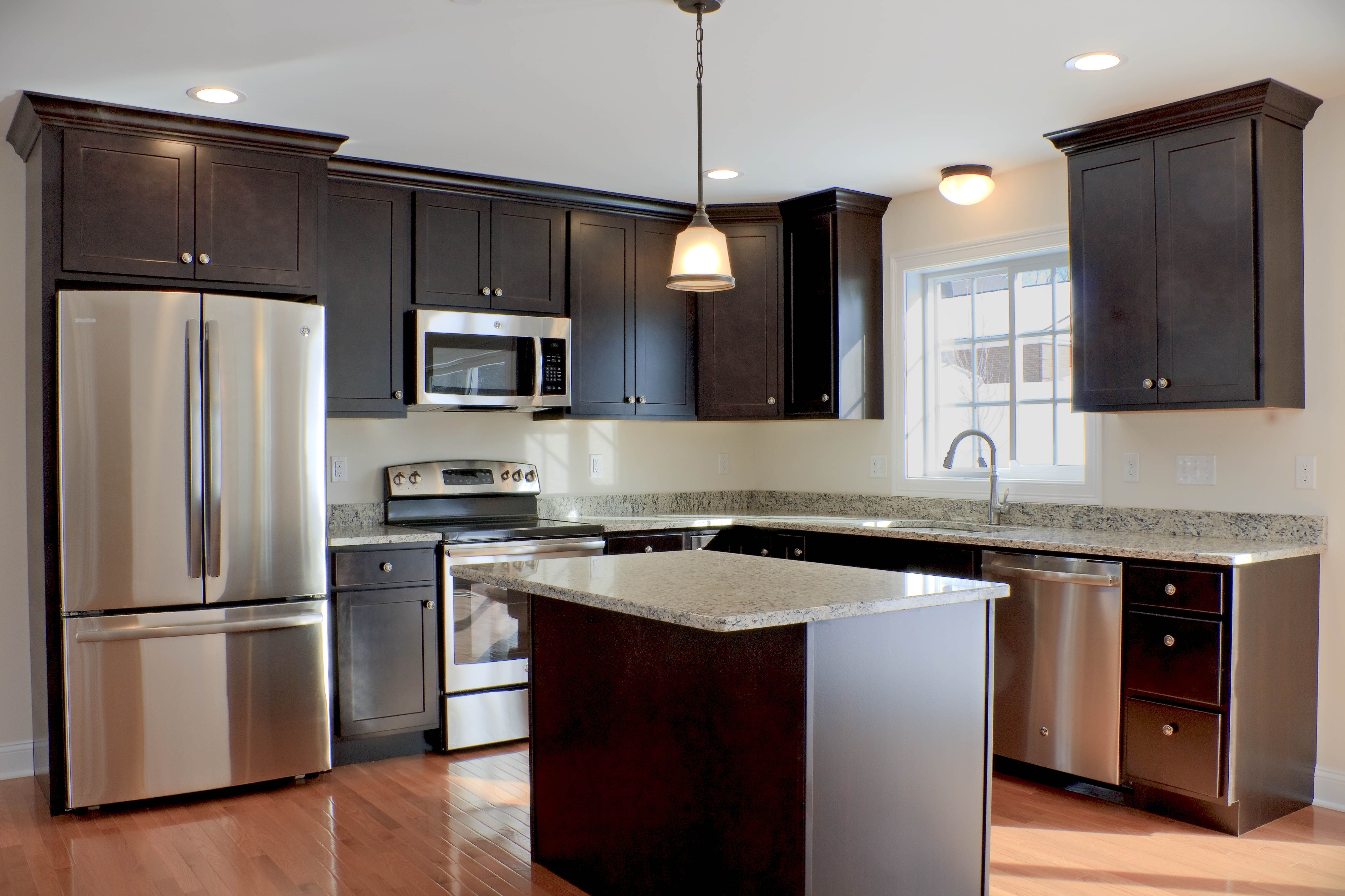 arbor in java with granite in santa cecillia light interior floor plan kitchen cabinets home on kitchen cabinets java id=14022
