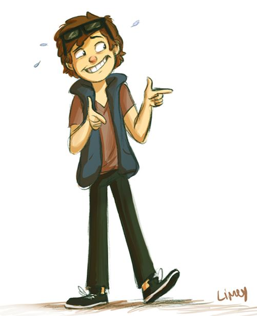 Aww, Dipper. He Totally Pulls Off That V Neck! Mabel Doesnu0027t
