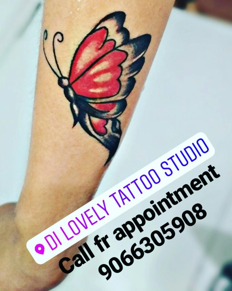 My New Wk Of Butterfly Tattoo On Hand Side Wist Call Fr Appointment 9066305908 Butterfly Hand Tattoo Tattoos Butterfly Tattoo