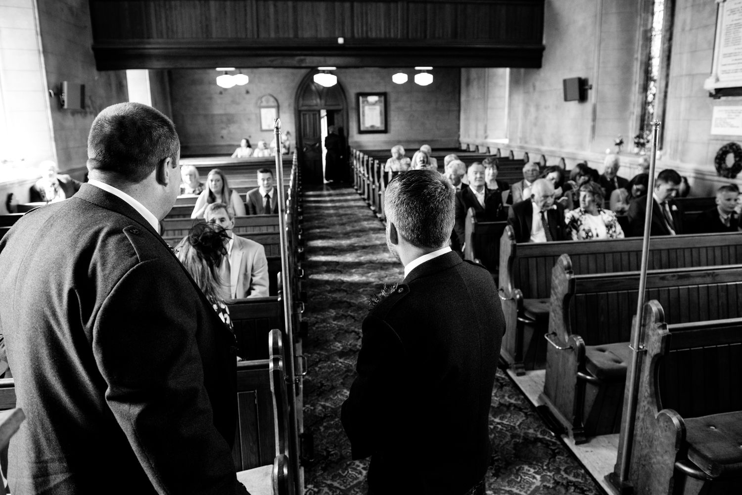 Lisburn Wedding Photographer Pure Photo N.I Magheragall Parish Church waiting…