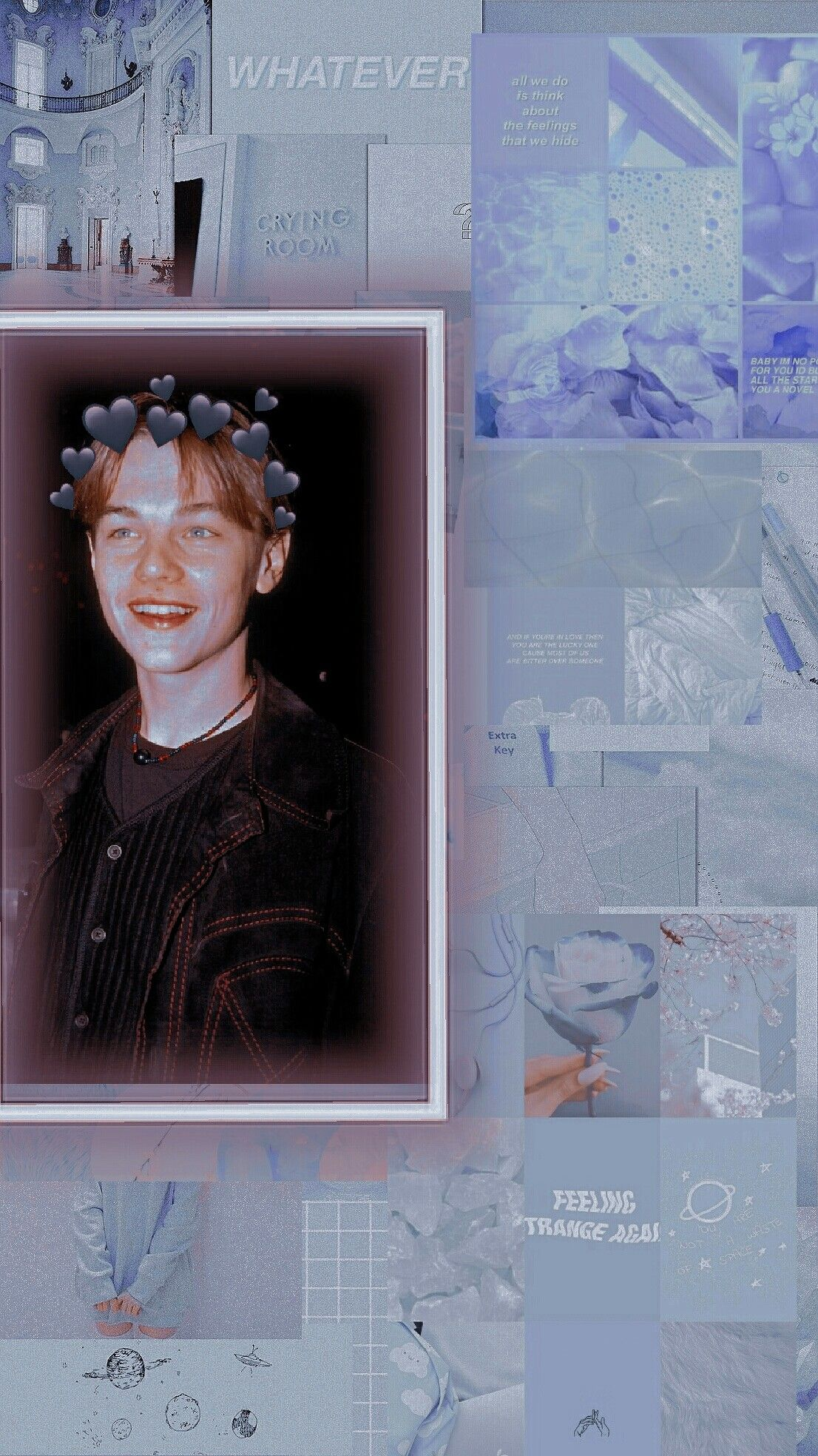 Young Leonardo Dicaprio Aesthetic Wallpaper