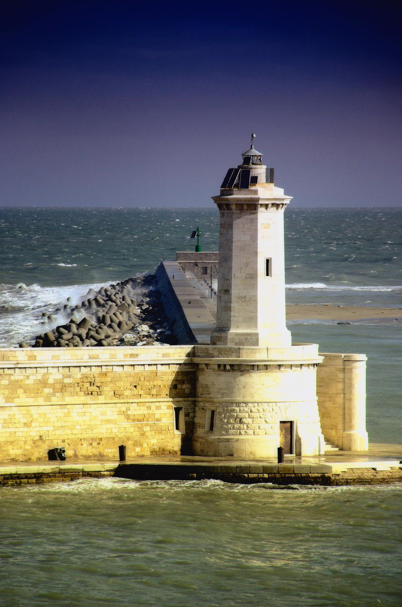 Livorno Harbor Lighthouse by joe00064 on 500px