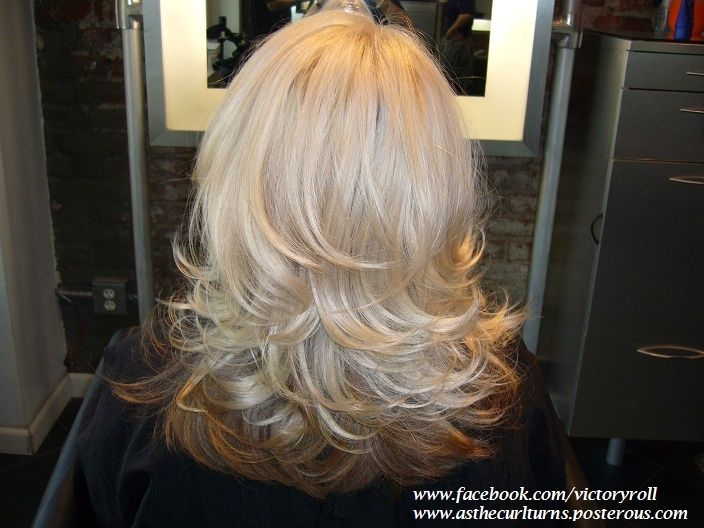 Image result for uniform layers blowdry | My Style | Curly ...