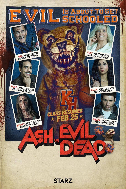 Ash Vs Evil Dead Season 3 Evil Dead Movies Ash Evil Dead Evil