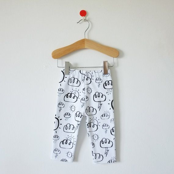 Weather Pattern Leggings by Hiyakee. Designed by Amy Walters