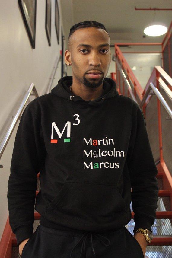 Marcus Garvey Martin L King Black History Month Hoodie Malcolm X