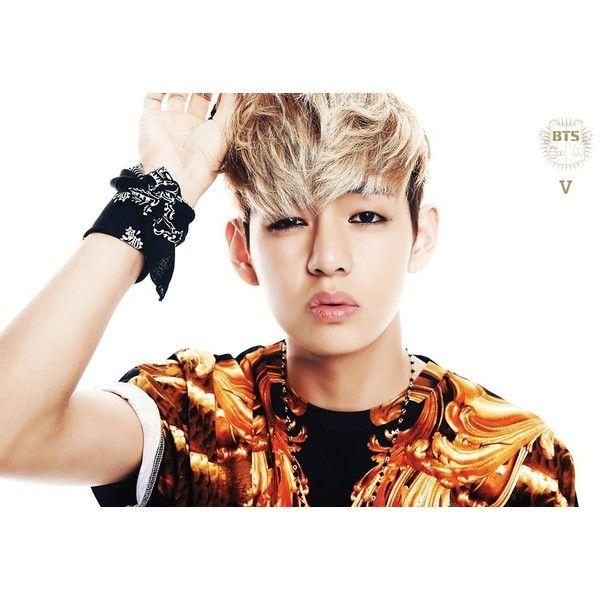 Bangtan Boys releases image teaser for member 'V' | allkpop.com ❤ liked on Polyvore featuring bts