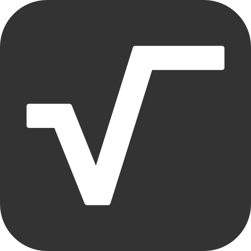 Square Root Symbol Icon Currying Right Leg Forward Pinterest