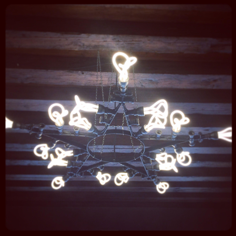 Plumen bespoke chandelier in berries concept store in treviso italy plumen bespoke chandelier in berries concept store in treviso italy arubaitofo Images