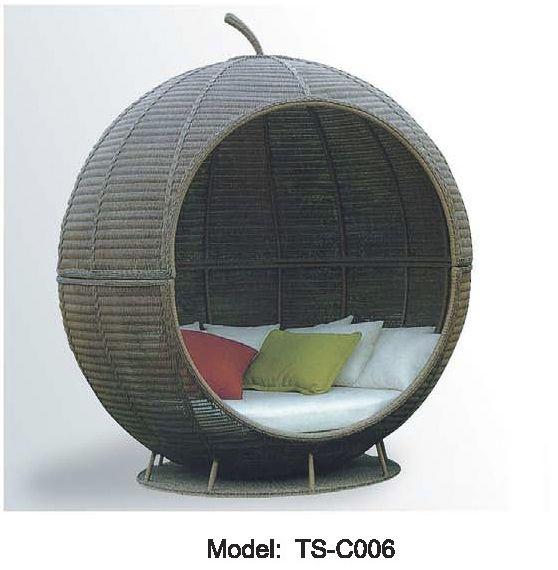 lit de jour en rotin meubles de jardin couvert dim transat dim patio extrieur lit baldaquin - Lit De Jardin