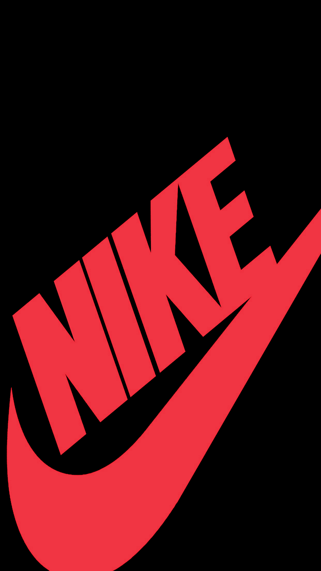 1242x2208 Red Nike Wallpapers Wallpaper Zone 画像あり