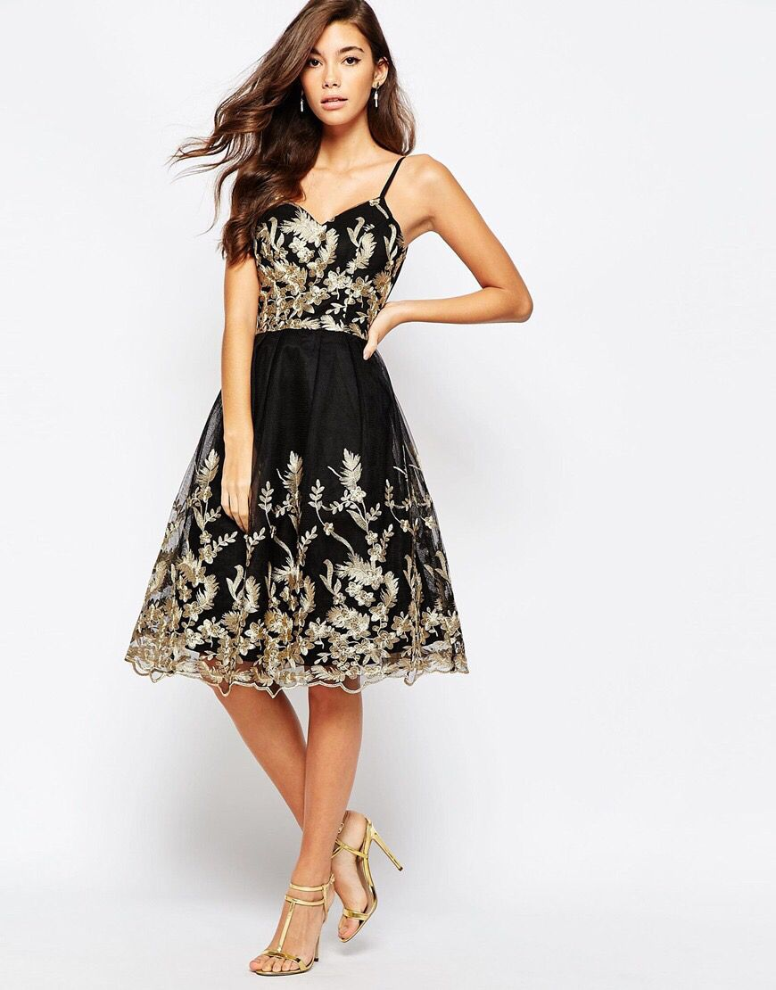 Black and gold prom pinterest prom