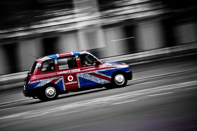 London Calling Taxi by Wennberginho, via Flickr