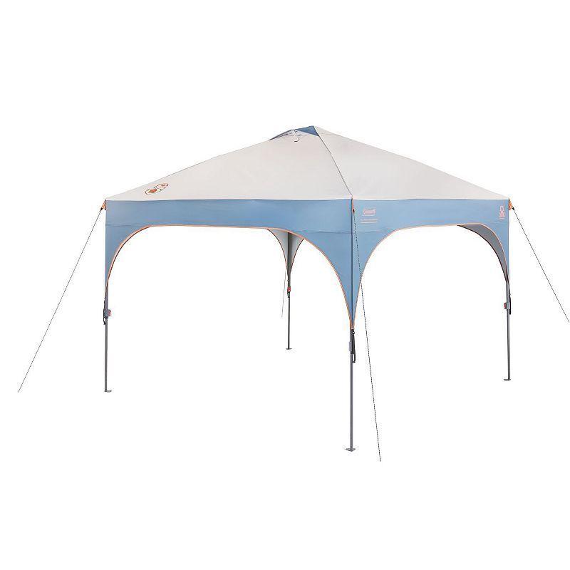 Coleman All Night Lighted Shelter 10 X 10 Camping Gazebo Shade Tent Gazebo Tent