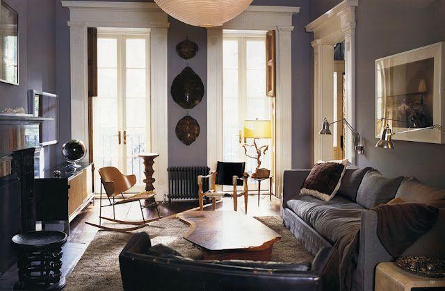 living room color Drica Pinterest Wohnzimer, Trends und - wohnzimmer blau holz