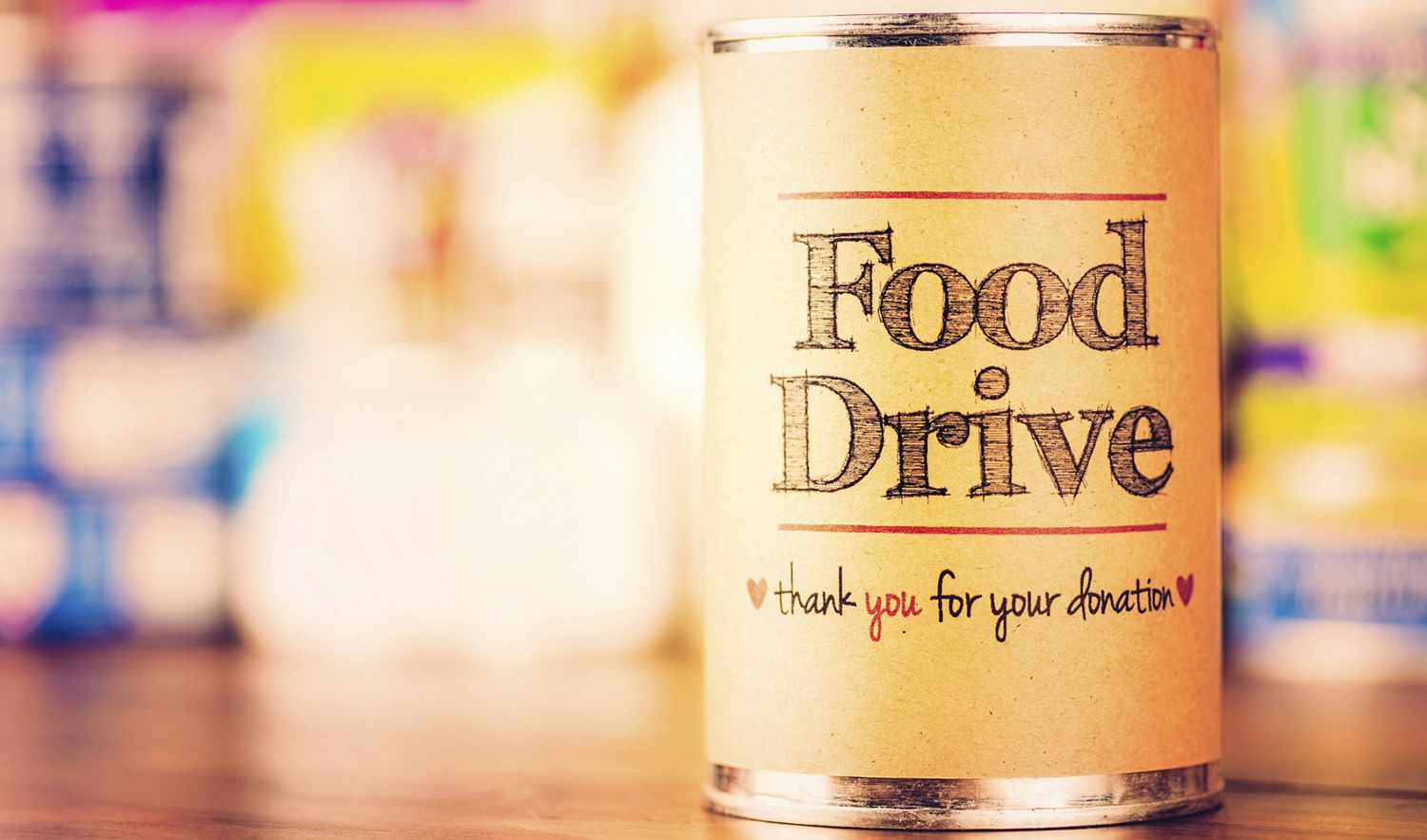 Elk grove office gives where they live food drive