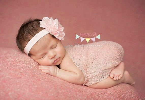 Baby Headband  Headband  Flower Headbands  Baby by PoshLittleTots, $7.50