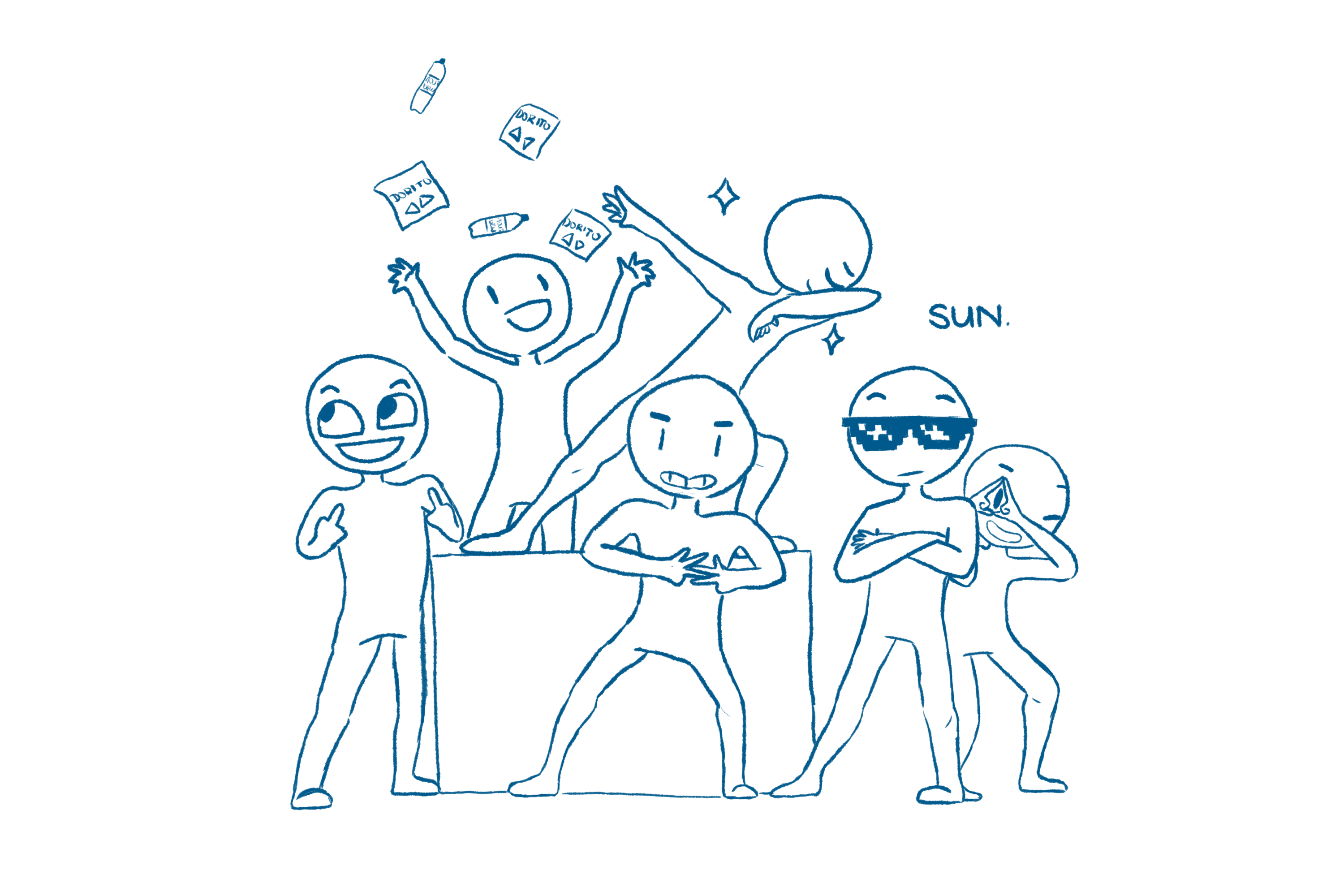 Draw Your Squad Draw Your Squad Meme Edition By Ds Al Coda On Deviantart Draw Your Squad Meme Drawings Drawing Poses