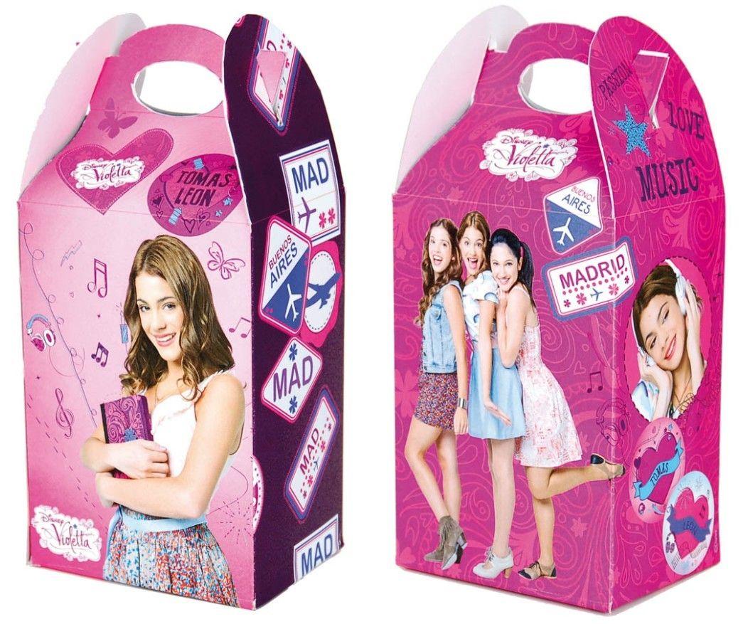 Violetta party boxes for snacks or favors violetta - Info violetta ...