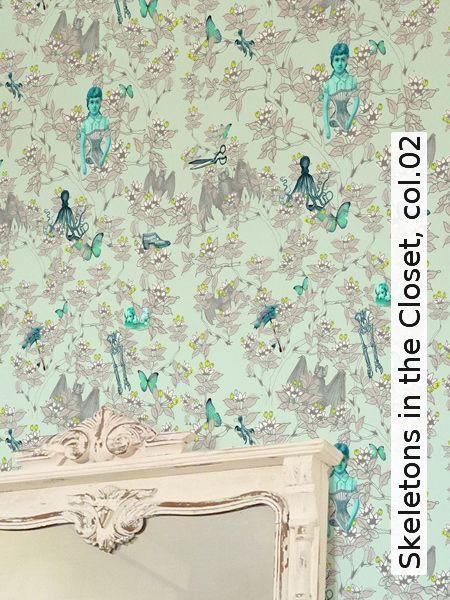 Tapete: Skeletons in the Closet, col.02 - Die TapetenAgentur