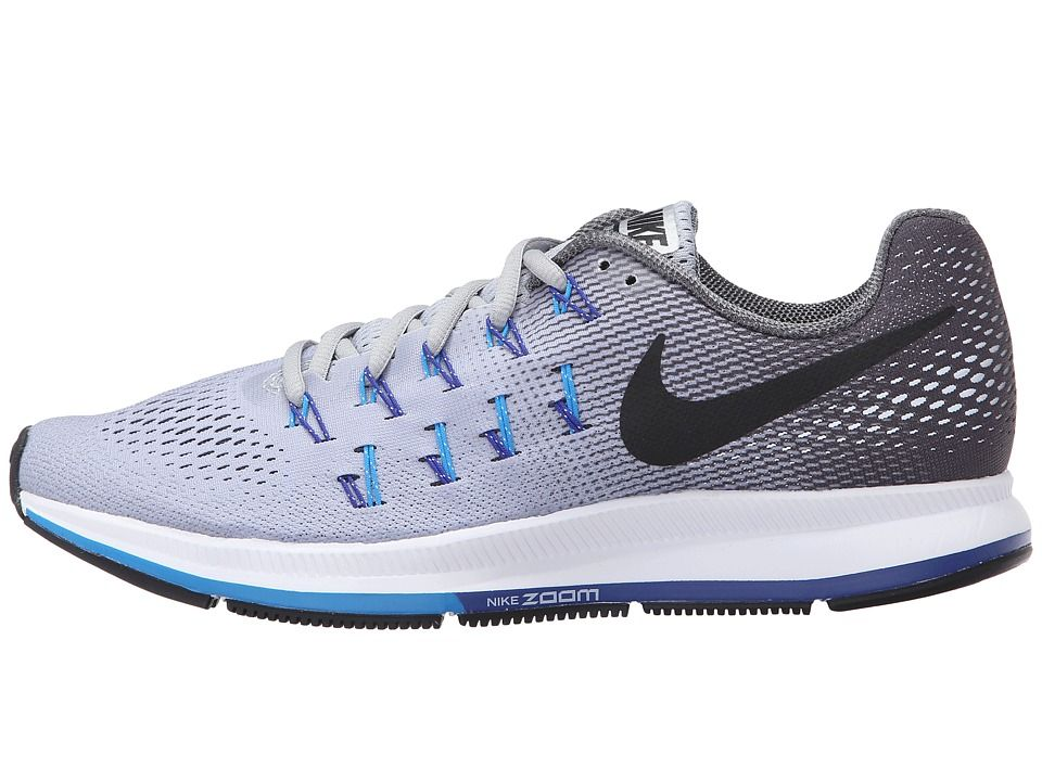 newest 4701b dac34 Nike Air Zoom Pegasus 33 Men's Running Shoes Wolf Grey/Blue ...