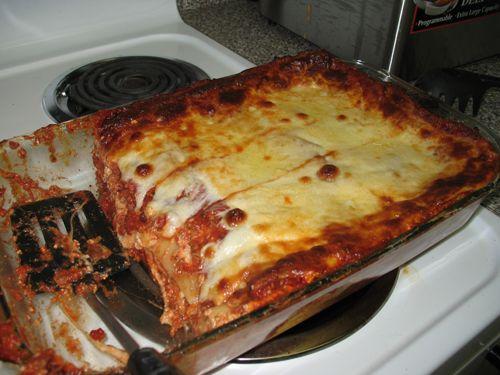 Really Easy Lasagna Recipe Added 1 Envelope Spaghetti