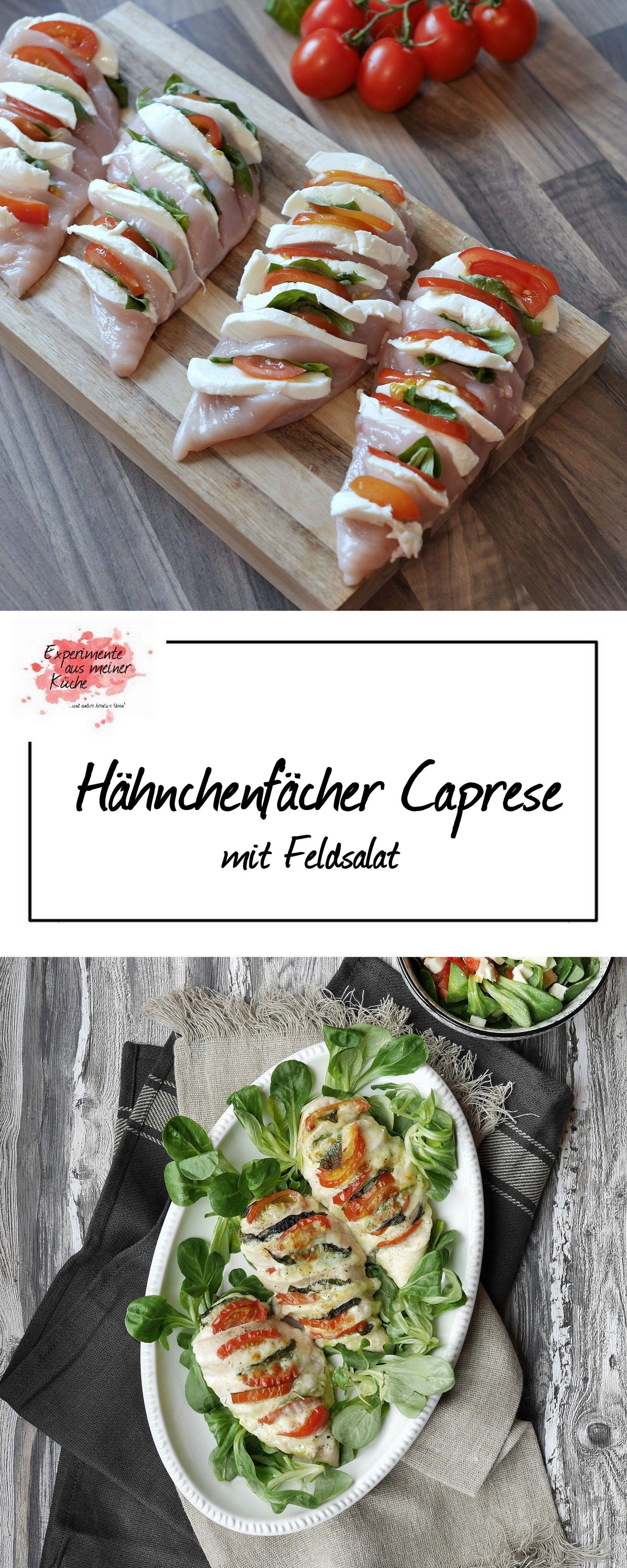 Chicken Fan Caprese – Experimente aus meiner Küche   – Rezepte