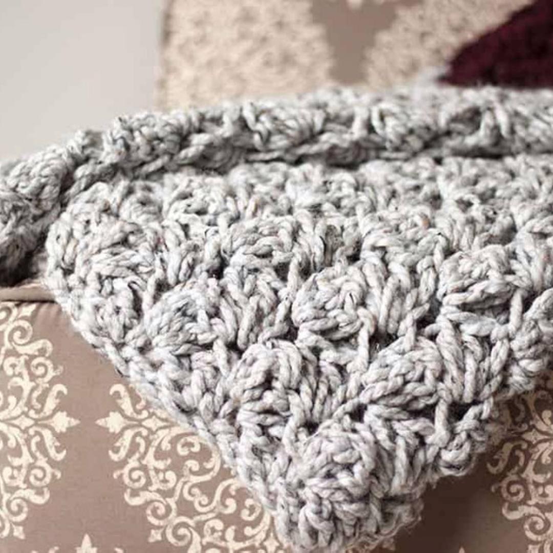 Photo of Chunky Crochet Blanket Pattern