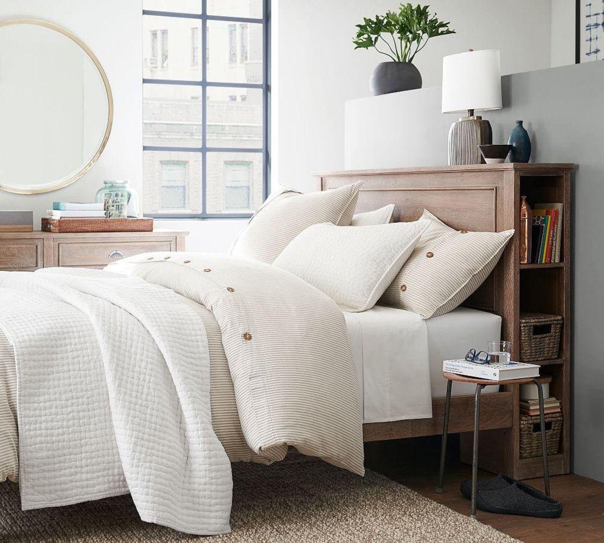 Astoria Storage Headboard & Platform Bed Bed design