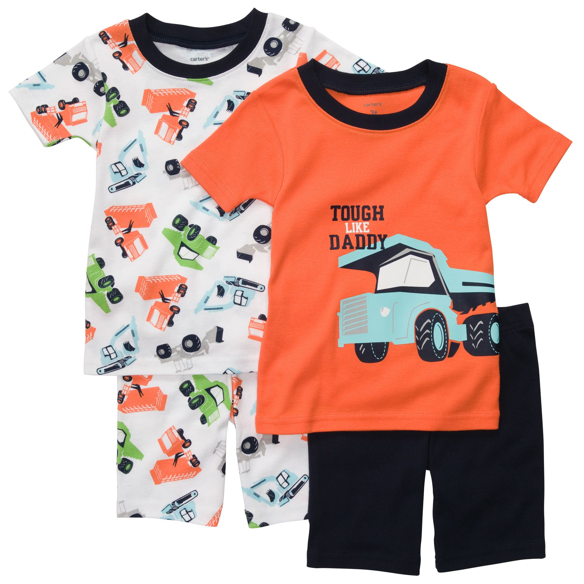 Snug-Fit Cotton 4-Piece Pjs | Baby Boy Clearance | Zayne ...