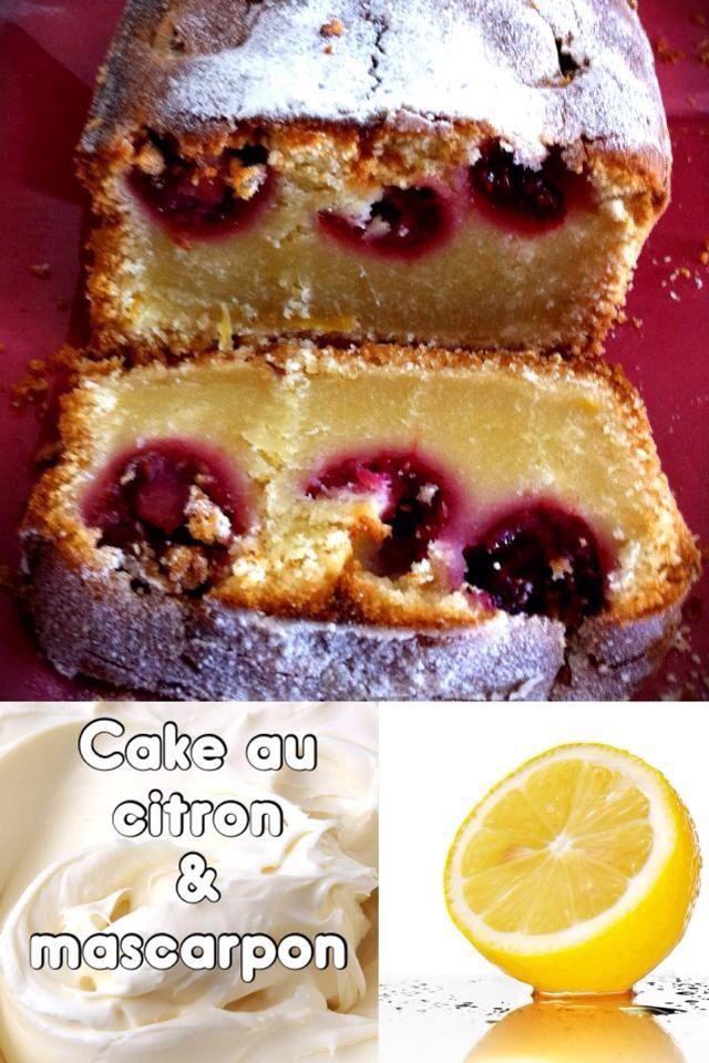 Cake fondant au citron