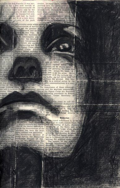 Charcoal Face by livinitallnow on @DeviantArt