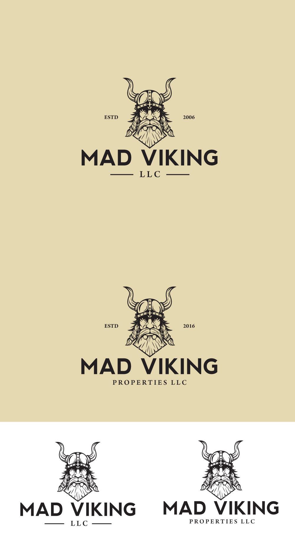Logo design for MAD VIKING