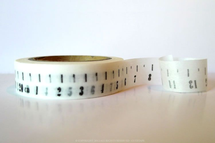 From Sweden Washi Tape CM Numbers #StudioCalicoPinToWin