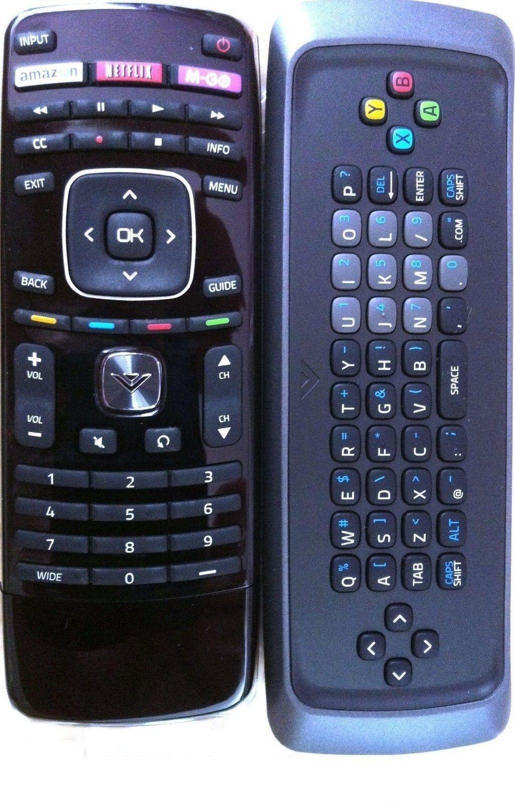 New! Original VIZIO XRT300 Qwerty keyboard remote for