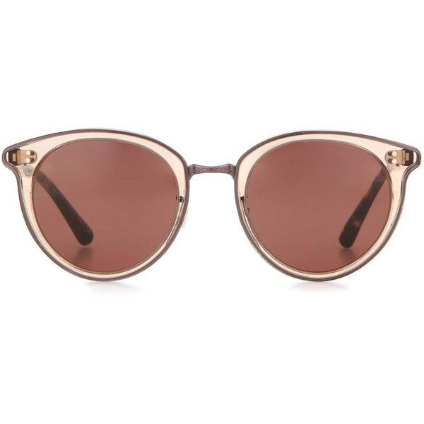 6d35f2b7e1 Oliver Peoples Spelman 50 Sunglasses (£320) ❤ liked on Polyvore featuring  accessories