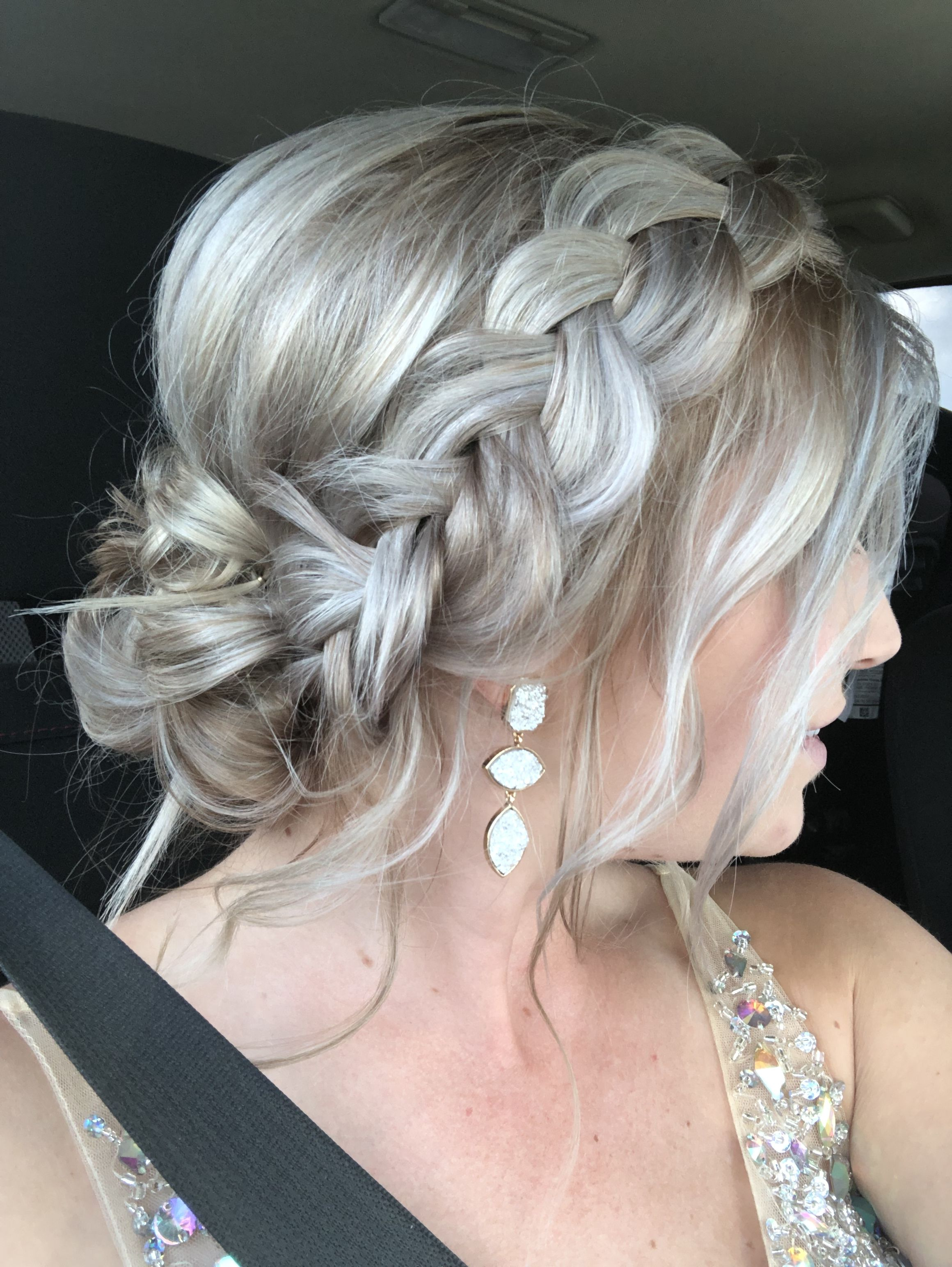 Formal Updo Military Ball Hair Ball Hairstyles Updos For Medium Length Hair